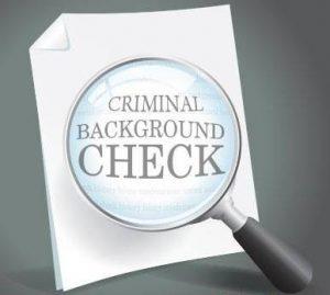 Criminal Records Background Check